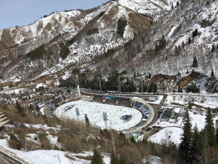 Eislaufbahn Medeo